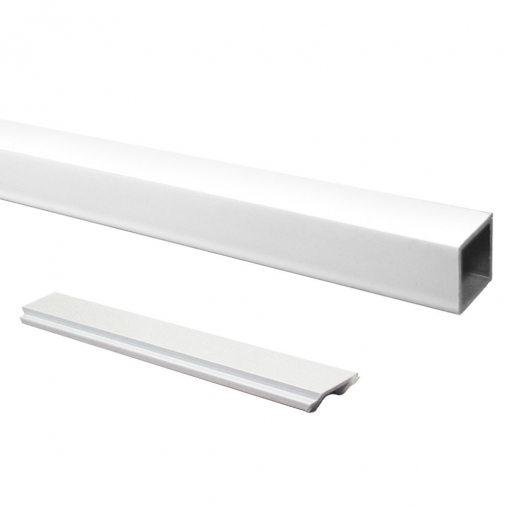 Attractive and durable powder coat finish White Standard Picket and Spacer Set