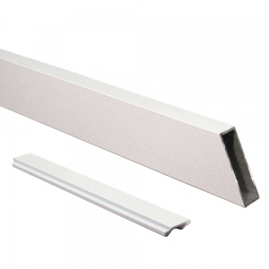 Attractive and durable powder coat finish White Wide Stair Picket and Spacer Set
