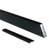 Attractive and durable powder coat finish Black Wide Stair Picket and Spacer Set