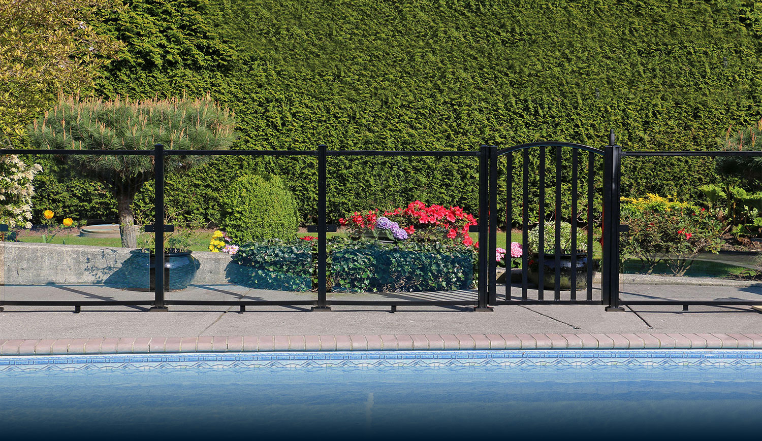 Aquatine Aluminum Pool Fencing