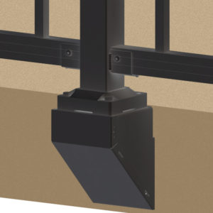 Fascia Mount Bracket Fitting