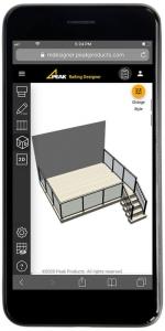 Railing Designer 3d mobile mockup