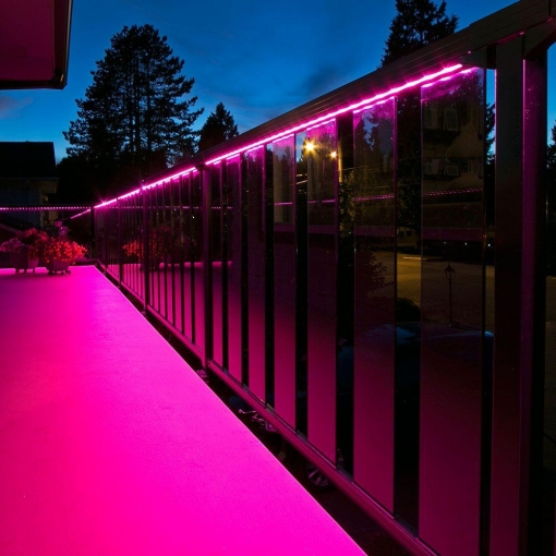 Neon Pink LED Lighting