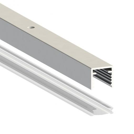 Aluminum Railing to fit LED Lighting
