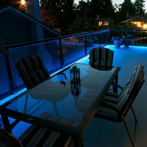 Neon Blue LED Lighting