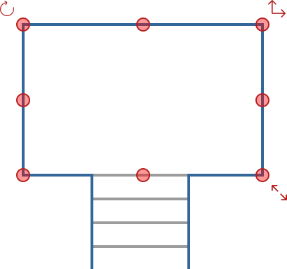 Railing Designer Diagram