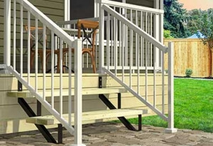 Steel Stair Risers from Deck Products