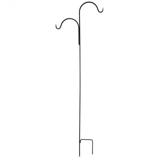 84 in. Traditional Double Shepherd Hook